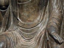 Mano Mudra de Buda Fotografía de archivo libre de regalías