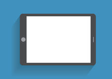 Mano que sostiene smartphone con la pantalla en blanco Fotografía de archivo