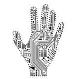 Mano robótica Imagen de archivo