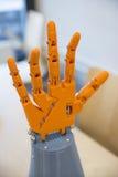 Mano robótica Imagen de archivo libre de regalías