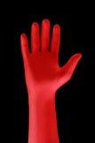 Mano roja Foto de archivo