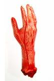 Mano sanguinante Fotografia Stock Libera da Diritti