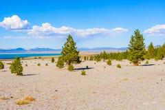 Mano sjö Kalifornien, USA Arkivfoton