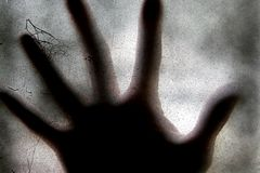 Mano spaventosa Fotografia Stock Libera da Diritti