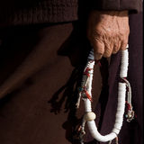 Mano tibetana Imagen de archivo libre de regalías