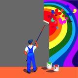 Mano, victoria-rosa Imagen de archivo libre de regalías