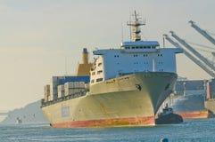 Manoa输入的港口在奥克兰 库存照片