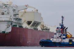 Manobras no porto imagens de stock royalty free