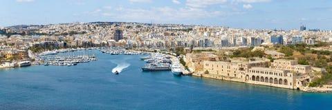 Manoel island yacht marina panorama Malta Stock Photography