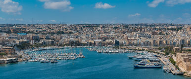 Manoel Island Yacht Marina. This is a picture of the Manoel Island Yacht Marina located on the shore of the Gżira quarter Stock Images