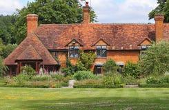 manoir anglais de maison rural images libres de droits