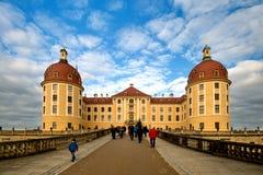 Manoir célèbre Moritzburg de chasse Images stock