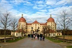 Manoir célèbre Moritzburg de chasse Photos libres de droits