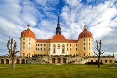 Manoir célèbre Moritzburg de chasse Image stock
