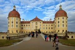 Manoir célèbre Moritzburg de chasse Photos stock