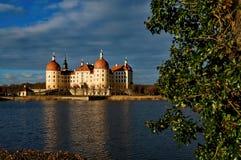 Manoir célèbre Moritzburg de chasse Photographie stock libre de droits