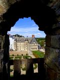 Manoir de Clos De Luce photo libre de droits