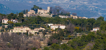 Manoir de l etang, French Riviera, France. Royalty Free Stock Photos