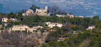 Manoir de l etang, French Riviera, France. Royalty Free Stock Photos