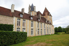 Manoir de la Vove在Perche自然公园,在Mortagne附近我 免版税库存图片