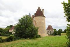 Manoir de la Vove in the natural park of Perche, near Mortagne i Stock Images