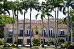 Manoir de luxe à Miami Image stock