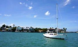 Manoir de luxe à Miami Image libre de droits