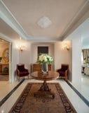 Manoir de luxe, salon Images libres de droits