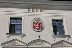 Manoir de Pacai à Vilnius photos stock