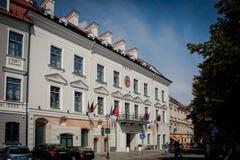 Manoir de Pacai à Vilnius image libre de droits