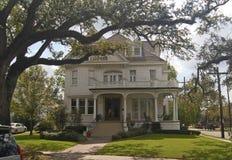 Manoir de secteur de jardin, la Nouvelle-Orléans image libre de droits