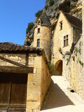 Manoir de Tarde, Ла Roque-Gageac (Франция) Стоковая Фотография RF