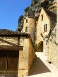 Manoir de Tarde, La Roque-Gageac (Francia) Fotografía de archivo libre de regalías