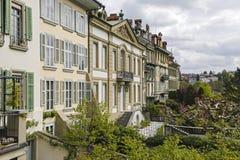 Manoir de ville dans la vieille ville de Berne Photographie stock libre de droits