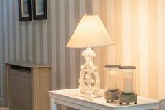 Manoir de vintage - lampe Photo libre de droits