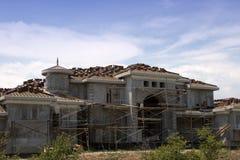 Manoir en construction Image libre de droits