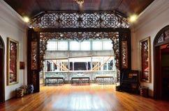 Manoir historique de Pinang Peranakan à Georgetown, Penang Photographie stock libre de droits