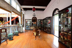 Manoir historique de Pinang Peranakan à Georgetown, Penang Photo stock