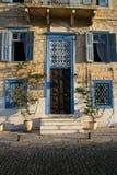 Manoir néoclassique, île de Syros, Grèce photographie stock libre de droits