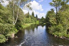 Manoir par le fleuve image libre de droits