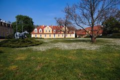 Manoir Pologne, l'Europe Photographie stock