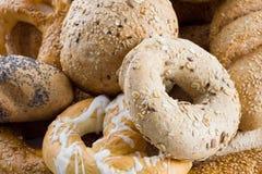 Manojo de artículos de panadería Fotos de archivo libres de regalías