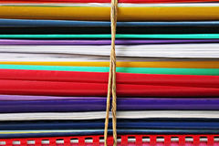 Manojo de carpetas Imagen de archivo