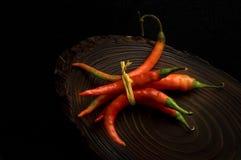 Manojo de chile Fotografía de archivo