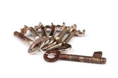 Manojo de claves Imagen de archivo