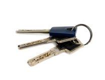 Manojo de claves. Imágenes de archivo libres de regalías
