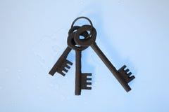 Manojo de claves Imagenes de archivo