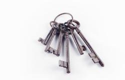 Manojo de claves Fotografía de archivo