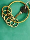 Manojo de claves Fotografía de archivo libre de regalías