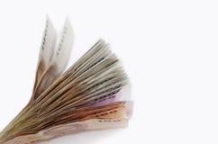 Manojo de dinero Foto de archivo libre de regalías